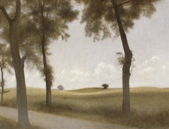 Vilhelm Hammershøi, The Rowan Avenue at Snekkersten, 1906, The David Collection