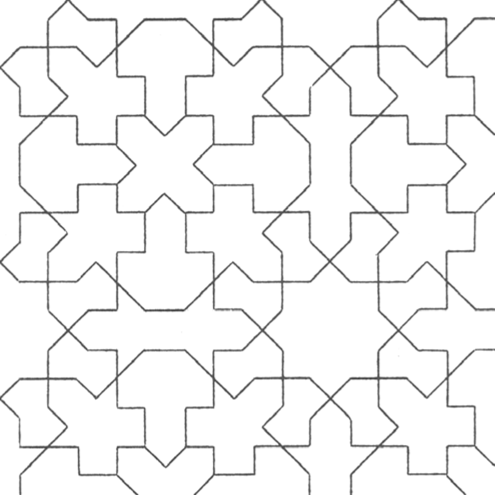 Coloring pages islamic patterns drawing