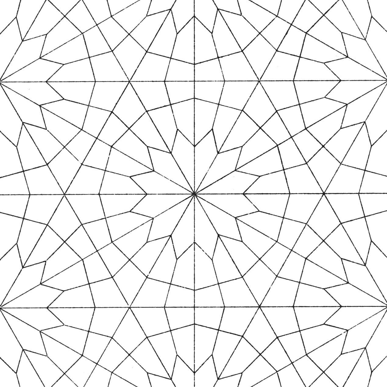 Geometric pattern coloring pages - photo#21