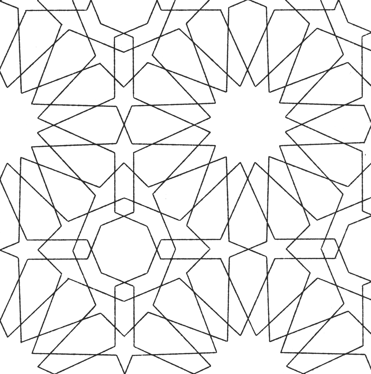 Pattern Colouring Pics : The david collection islamic patterns
