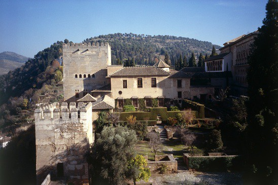 Wide alhambra fort