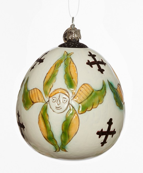 Wide copyright  the david collection coipenhagen glaskugle glasornament foto pernille klemp enkelt ornament